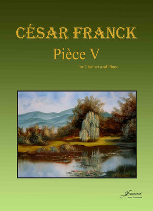 Franck: Piece V  for Clarinet and Piano