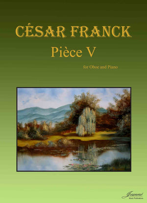 Franck: Piece V for oboe and piano