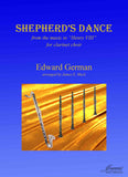 German (Mack): Sherherd's Dance from Henry VIII arr. for Clarinet Choir