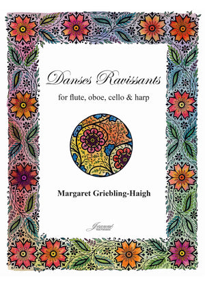 Griebling-Haigh: Danses Ravissants for flute, oboe, cello, and harp