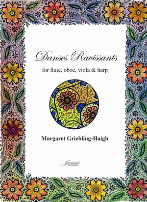 Griebling-Haigh: Danses Ravissants for flute, oboe, viola and harp