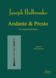Holbrooke: Andante and Presto for clarinet and piano