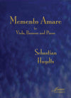 Huydts: Memento Amare for Bassoon, Viola and Piano