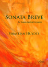 Huydts: Sonata Breve for Bass Clarinet and Piano