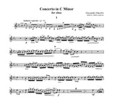 Marcello (Anderson): Concerto in C Minor for oboe and piano