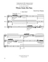 Thomas: Three from the Sea for 3 clarinets