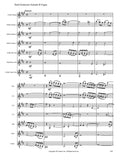 Bach, J.S. (Anderson): Fantasie and Fugue in A Minor arr. for clarinet choir