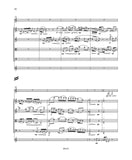 Canfield: Sextet for Clarinet, String Quartet and Chimes {SCORE]