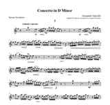 Marcello (Rousseau): Concerto in D Minor for Soprano Saxophone and Piano