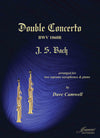 Bach (Camwell): Double Concerto BWV 1060R for 2 Soprano Saxophones and Piano