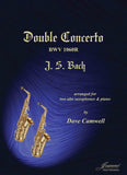 Bach (Camwell): Double Concerto BWV 1060R for 2 Alto Saxophones and Piano