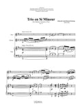 Destenay: Trio in B Minor for Oboe, Clarinet and Piano