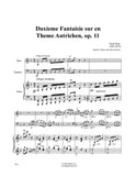 Brod: Duxieme Fantaisie sur un Theme Austrichien, op. 11 for Oboe, Bassoon, and Piano