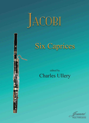 Jacobi (Ullery): Six Caprices for Bassoon