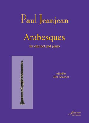 Jeanjean (Anderson): Arabesques for Clarinet and Piano