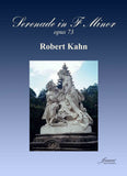 Kahn: Serenade in f minor, op. 73 for oboe or violin or clarinet, horn, and piano