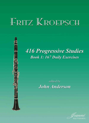 Kroepsch: 416 Progressive Studies for Clarinet, Book 1