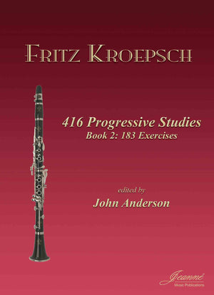Kroepsch: 416 Progressive Studies for Clarinet, Book 2