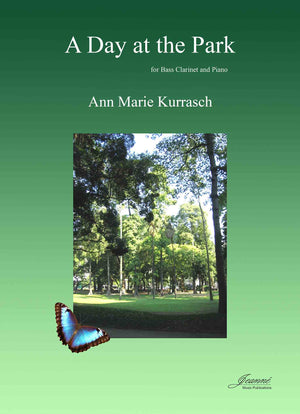 Kurrasch: A Day at the Park for bass clarinet and piano