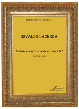 Lacerda: Variacoes sobre 'Carneirinho, carneirao' for oboe and piano