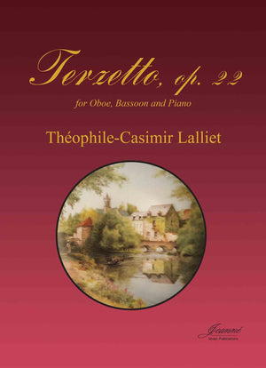 Lalliet: Terzetto, op. 22 for oboe, bassoon and piano