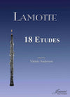 Lamotte: 18 Etudes for Oboe