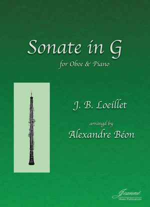 Loeillet (Beon and Anderson): Sonate in G for oboe and piano