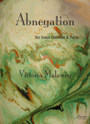 Malawey: Abnegation for bass clarinet and harp