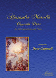 Marcello (Camwell): Concerto for Alto Saxophone and Piano