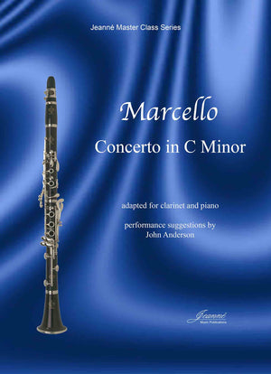 Marcello (Anderson): Concerto in C Minor adapted for Clarinet and Piano