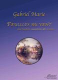 Marie: Feuilles au vent for oboe, alto saxophone, and piano