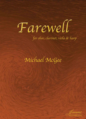 McGee: Farewell for Oboe, Clarinet, Viola and Harp