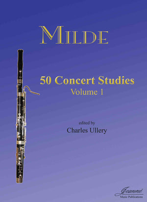Milde (Ullery): 50 Concert Studies for Bassoon, vol. 1