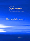 Milhaud: Sonate for Flute, Oboe, Clarinet and Piano