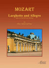 Mozart (Thomas): Larghetto and Allegro arr. for oboe, clarinet, and piano