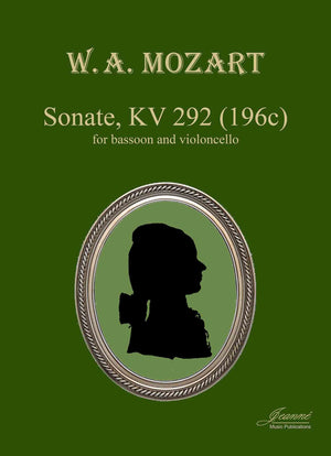 Mozart: Sonate K292 for bassoon and cello