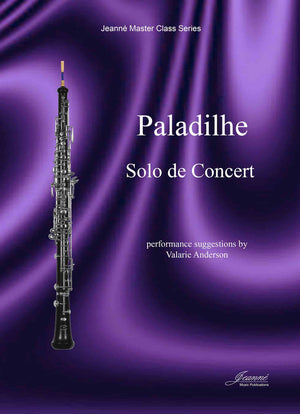 Paladilhe and Anderson: Solo de Concert for oboe and piano