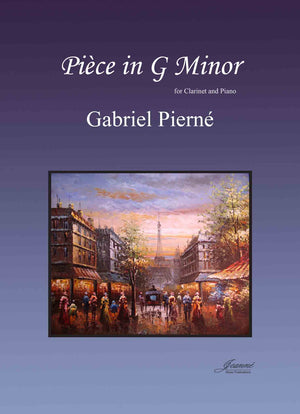 Pierne: Piece in G Minor for Clarinet and Piano