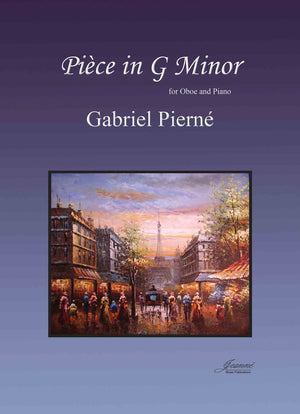Pierne: Piece in G minor for Oboe and Piano