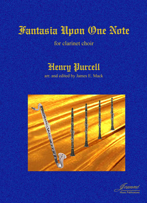 Purcell (Mack): Fantasia Upon One Note arr. for clarinet choir