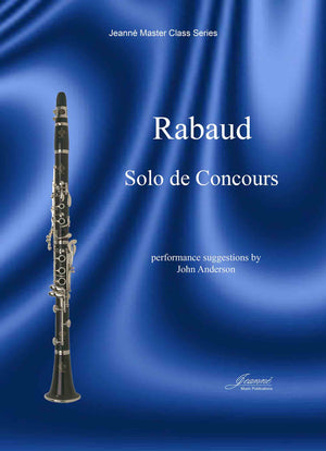 Rabaud (Anderson): Solo de Concours for B-flat Clarinet and Piano