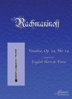 Rachmaninoff: Vocalise for English Horn and Piano