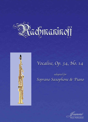 Rachmaninoff (Anderson): Vocalise for Soprano Saxophone and Piano