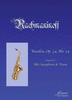 Rachmaninoff (Anderson): Vocalise for Alto Saxophone and Piano