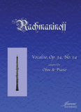 Rachmaninoff: Vocalise for Oboe and Piano
