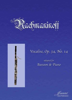 Rachmaninoff (Anderson): Vocalise for Bassoon and Piano