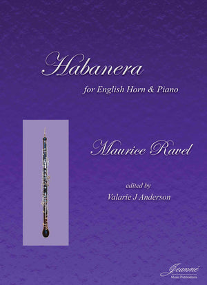 Ravel (Anderson): Habanera for English Horn and Piano