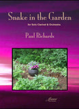 Richards: Snake in the Garden for clarinet and orchestra [SCORE]
