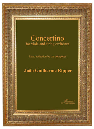 Ripper: Concertino for Viola and String Orchestra (piano reduction)