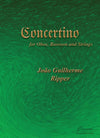 Ripper: Concertino for Oboe, Bassoon and Strings [SCORE]